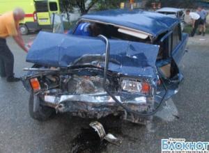 В Отрадненском районе произошло лобовое столкновение