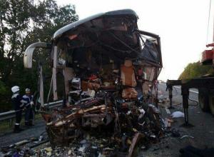 МВД опровергло информацию о седьмом погибшем в аварии автобуса на Кубани
