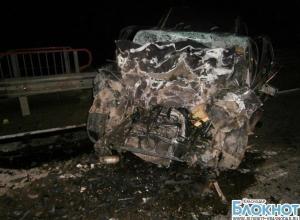 В Белореченском районе BMW столкнулся с КАМАЗом: двое погибших