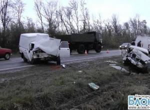 В Краснодарском крае в аварии погиб мужчина
