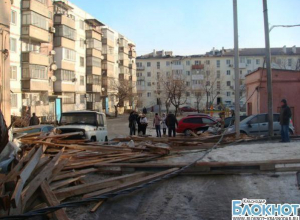 Власти Новороссийска подсчитали ущерб от урагана