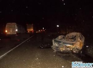 В ДТП в Туапсинском районе погиб человек