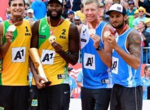 Кубанские спортсмены взяли бронзу чемпионата мира по пляжному волейболу