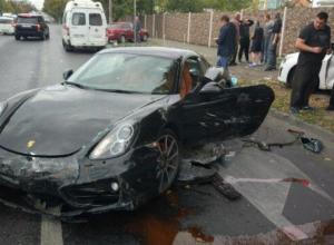 Появилась видеозапись и интересные подробности эпичной аварии с Porsche в Краснодаре