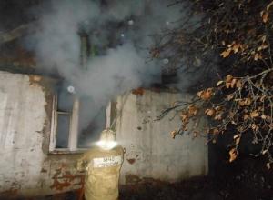 В Тимашевском районе произошел пожар