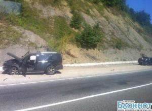 На трассе «Джубга-Краснодар» произошла авария с лобовым столкновением
