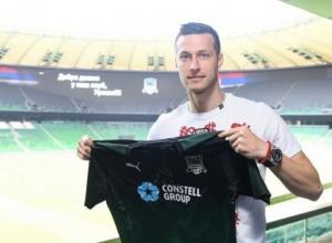 Защитник Спаич проведет в «Краснодаре» следующие 5 лет