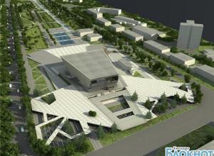 В Краснодаре завершают строительство фонтанного комплекса