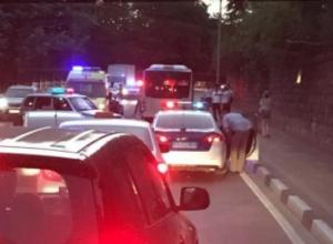 ДТП с участием мотоцикла произошло в Сочи, есть погибший