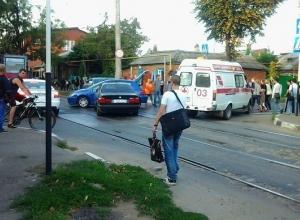 В Краснодаре в ДТП пострадала беременная девушка