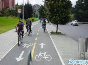 В кубанской столице запустят новые велодорожки