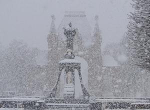 В Краснодаре обещают снег на новогоднюю ночь