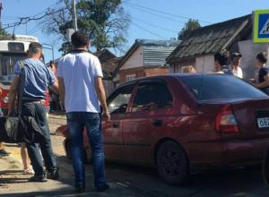 Авария парализовала движение трамваев в Краснодаре