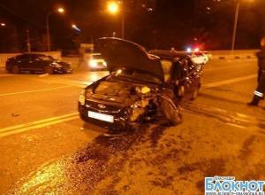 В Краснодарском крае в аварии пострадали три человека