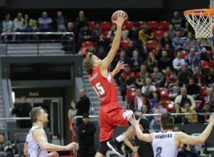 Краснодар примет «Финал четырех» Кубка России по баскетболу