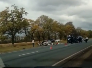 В лобовом столкновении на Кубани погибло 4 человека