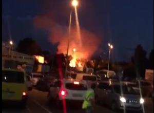 Несколько пожаров сразу заставили понервничать краснодарцев