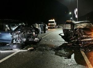 В Сочи шесть человек пострадали при столкновении двух внедорожников