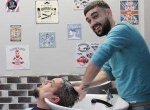 Третьим участником «Barber Battle» стал барбершоп «Франт»