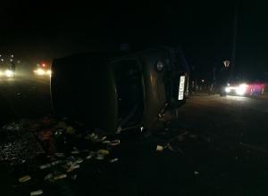 Крупное ДТП под Армавиром: пострадали 13 человек