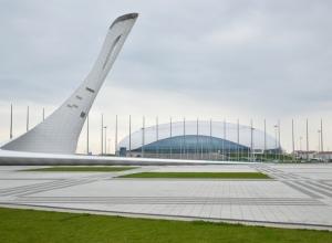 Произошел пожар в Олимпийском парке города Сочи