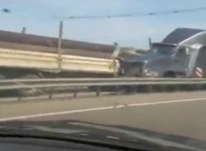 Под Краснодаром произошло страшное ДТП с участием трех грузовиков