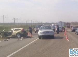 В Краснодарском крае в аварии погибли женщина и трехлетний мальчик