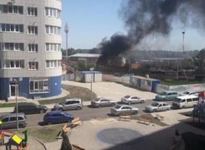 Очередной пожар тушили в Краснодаре