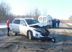 В Апшеронском районе женщина-водитель отправила в больницу трех человек