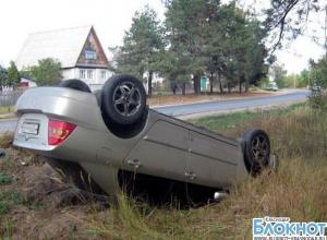 Новороссийский район: при опрокидовании автомобиля погибло двое
