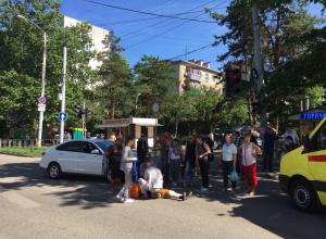 Водитель Nissan Almera сбил пенсионерку на пешеходном переходе в Краснодаре