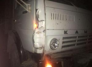 В Краснодарском крае КАМАЗ «закатал» пешехода