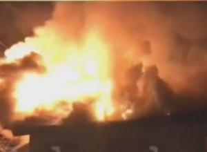 В доме были баллоны с газом: в Сочи произошел крупный пожар