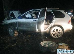 На трассе М-4 автомобиль врезался в дерево: погибла девушка