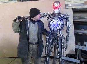 Житель Сочи создал своего настоящего Терминатора