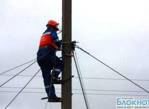 В Крымском районе без света остались около 3000 жителей