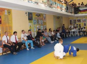 Прошел открытый турнир по дзюдо среди детей Краснодарского края