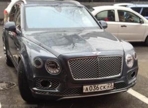 «Хахалевы помогли»: третье место по роскошным автомобилям занял Краснодар