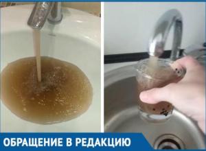 Жители Краснодара страдают от грязной воды в своих квартирах