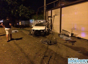 В результате аварии в Краснодаре погибли два парня