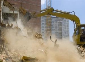 В Краснодаре продолжат сносить многоэтажки-самострои