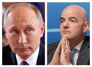 Путин 3 мая обсудит в Сочи готовность ЧМ-2018 и встретится с президентом ФИФА  Инфантино