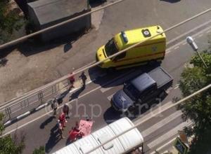 Иномарка насмерть сбила мужчину на пешеходном переходе в Туапсе