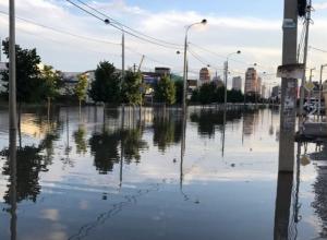 Московский микрорайон Краснодара до сих пор остается под водой