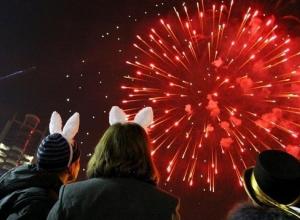 Более 10 тысяч краснодарцев встретили Новый год на Театральной площади