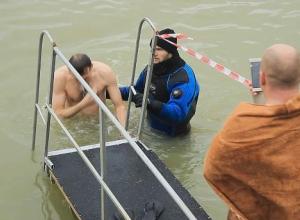 «Огонь!»: Краснодарцы поделились впечатлениями о крещенском купании