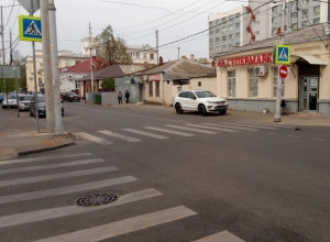«Пробки или пешеходы»: ОНФ провел рейд по пешеходным переходам Краснодара