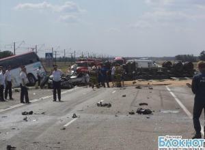 В Краснодарском крае столкнулось семь автомобилей