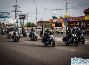 Байкерский сезон на Кубани открыли мотопробегом