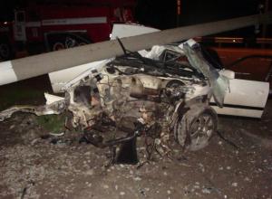 В аварии под Ейском погиб молодой мужчина